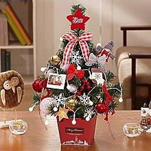 SRMTS Christmas Trees with Lights Mini Xmas Trees