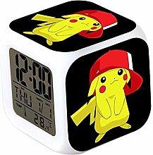 SRQOESFF Alarm Clock Alarm Clock LED Digital Clock