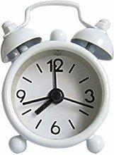 SRQOESFF Alarm Clock Creative Cute Mini Metal