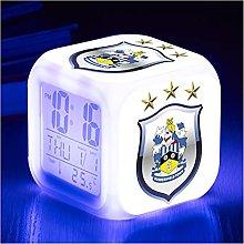 SRQOESFF Alarm Clock Football League Logo alarm