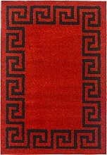 SrS Rugs® Eclipse Collection, Greek Key Design,