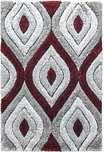 SrS Rugs® Luxus Collection, 3D Shaggy Rug for