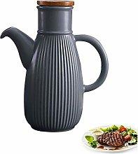 SRUI Porcelain Olive Oil Pourer Dispenser Dressing