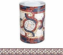 Ssamall 5Meters Red Waist Line Wallpaper Border
