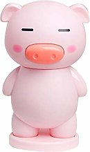 SSCXH Handheld Cartoon Piggy Pocket Mini Fan USB