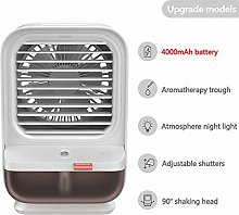 SSCXH Mini Air Conditioner Air Cooler Fan Night