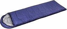 SSDAOO Outdoor Folding Sleeping Bag Envelope Adult
