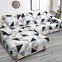 SSDLRSF Assemble Sofa Cover Printed Stretch Couch