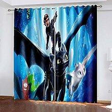 Ssghio Blackout Curtains, How to Train Your Dragon