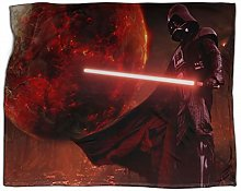 SSKJTC Boys Throw Blanket Star wars Poster planet