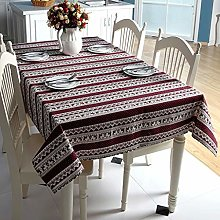 SSMDYLYM Christmas Tablecloth Purple Snowflakes