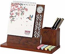 SSN Office desk work calendar notebook double coil
