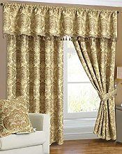 SSP Curtain Pair Heavy Jacquard Chenille Blackout