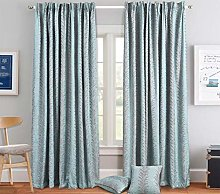 SSP Modern Pair Curtain with Tiebacks Fully Lined