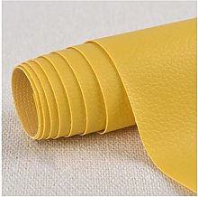 SSYBDUAN Faux Leather Leatherette Adhesive Back