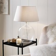 St Ives Table Lamp , Clear, One Size