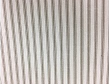 St Ives Ticking Mink Day Woven Cotton Stripe