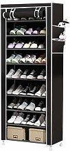 St@llion 10 Tier 9 Lattices Shoe Rack 27 Pair Shoe