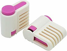 St@llion 2PCS DIY Bread Cake Slicer Toast Cut,