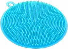 St@llion Blue Silicone Sponge Dishwasher Dish