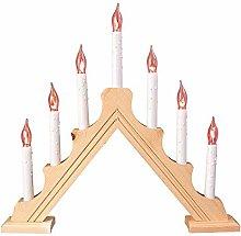 St@llion LED Christmas Candle Arch Bridge Pine