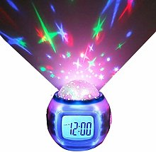 St@llion LED Music Clock- Digital Alarm Clock