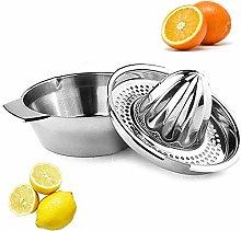 St@llion Lemon Squeezer, Citrus Orange Stainless