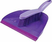 St@llion Plastic Dustpan & Brush Set for House