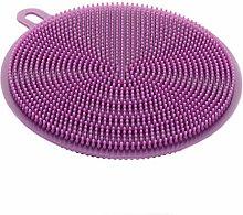 St@llion Purple Silicone Sponge Dishwasher Dish