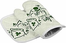 St. Patrick Day Oven Mitts and Potholders BBQ