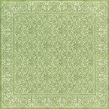 St Tropez Tablecloth Beauville Colour: Green