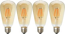 ST64 6W Edison Style Vintage Dimmable LED Filament