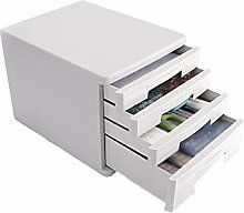 Stable Filing Cabinet 4-layer Storage Design
