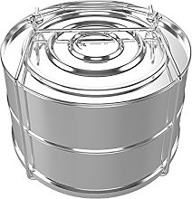 Stackable Insert Pans Steamer, Food Grade