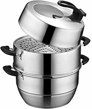 Stackable Stainless Steel Pressure Cooker Steamer
