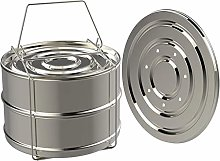 Stackable Steamer, Stainless Steel Stackable Food