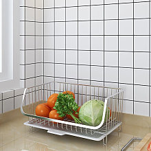 Stackable Storage Basket Stainless Steel Fruit