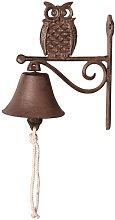 Stacy Owl Door Bell Sol 72 Outdoor