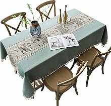 Stafeny Household Dining Table and Tablecloth