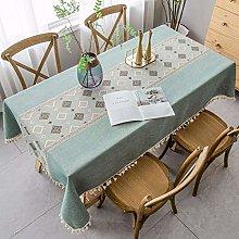 Stafeny Table Cloths Rectangular, Wrinkle-Free