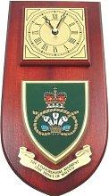 Staffordshire Regiment Wall / Mess Clock
