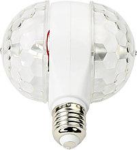 Stage Light, E27LED Disco Stage Bulb, 2 Rotating