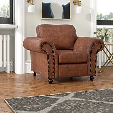 Staggs Armchair ClassicLiving Upholstery Colour: