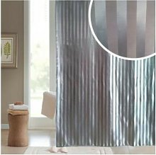 Stain Stripe Polyester Shower Curtain 1800mm x