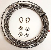 Stainless Steel A4 Marine Grade Wire Rope Cable +2