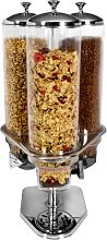 Stainless Steel and Polycarbonate Cereal Dispenser