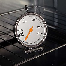 Stainless Steel Baking Oven Thermometer with Easy