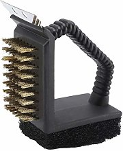 Stainless Steel BBQ Cleaner Brush 3-in-1 Durable