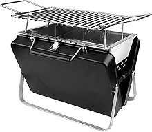 Stainless Steel BBQ Grill Folding Black Portable