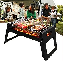 Stainless Steel BBQ Grill, Portable BBQ Charcoal